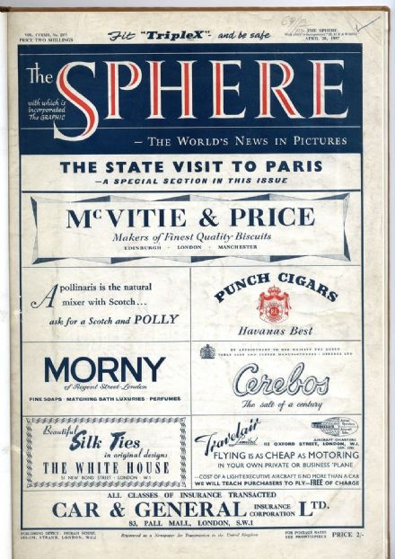 1957 THE SPHERE Newspaper 20 Apr MERMAID THEATRE Bermans & Nathans Binding (7792